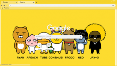 Kakao Friends Chrome Themes Themebeta