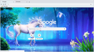 Unicorn Chrome Themes Themebeta