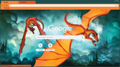 Wings Of Fire Chrome Themes Themebeta