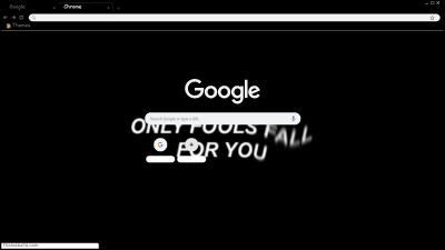 Depression Chrome Themes Themebeta