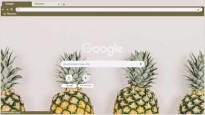Pineapple Chrome Themes Themebeta