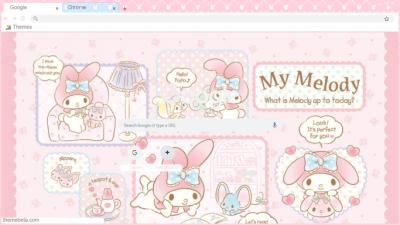 Bunny Chrome Themes Themebeta