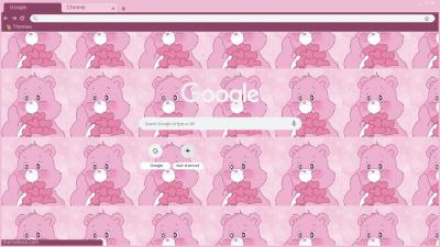 Pink Aesthetic Chrome Themes Themebeta