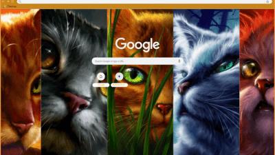 Warrior Cats Chrome Themes Themebeta