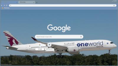 Airbus Chrome Themes - ThemeBeta
