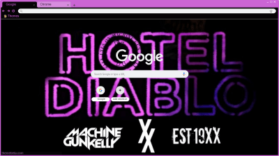 Machine Gun Kelly Chrome Themes Themebeta