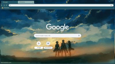 Shingeki No Kyojin Chrome Themes Themebeta