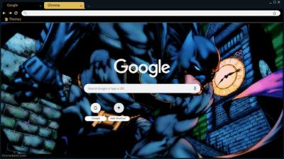 comic book Chrome Themes - ThemeBeta