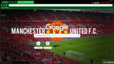 Manchester United Chrome Theme