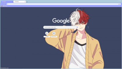 Todoroki Chrome Themes Themebeta