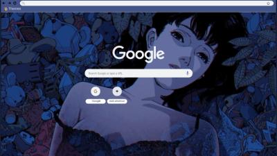 Blue Background Chrome Themes Themebeta