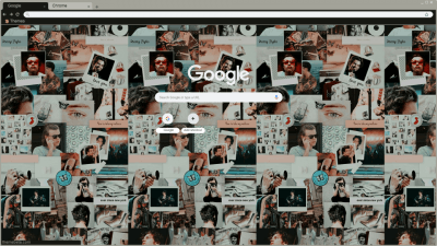 Harry Styles Chrome Themes Themebeta