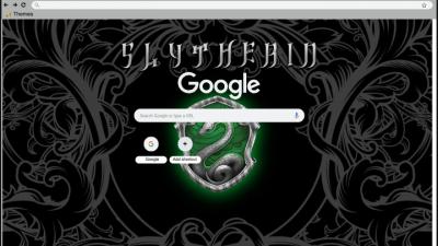 Slytherin Chrome Themes Themebeta