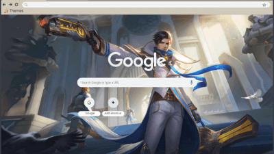 Mobile Legends Chrome Themes Themebeta