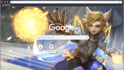 mobile legends Chrome Themes - ThemeBeta