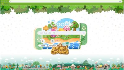 Animal Crossing Chrome Themes Themebeta