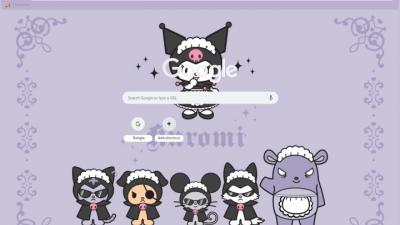 Kuromi Chrome Themes Themebeta
