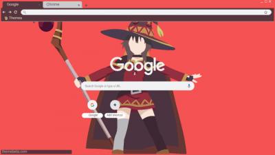 Megumin Chrome Themes Themebeta