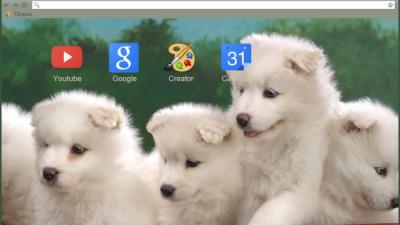 Puppy Chrome Themes Themebeta