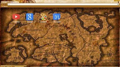 Tamriel The Elder Scrolls Skyrim Oblivion Morrowind Chrome Themes