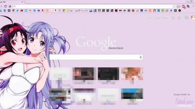 Asuna Chrome Themes - ThemeBeta