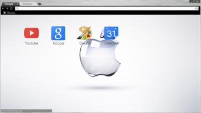 iOS 8 Chrome Themes - ThemeBeta