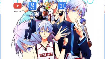 anime # kuroko no basket # kuroko Chrome Themes - ThemeBeta