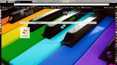 Piano Chrome Themes - ThemeBeta