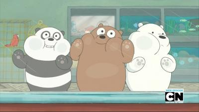 We Bare Bears Windows Theme Themebeta