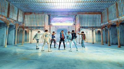 BTS Fake Love Windows Theme - ThemeBeta