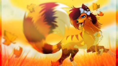 Wolf Anime Windows Theme Themebeta