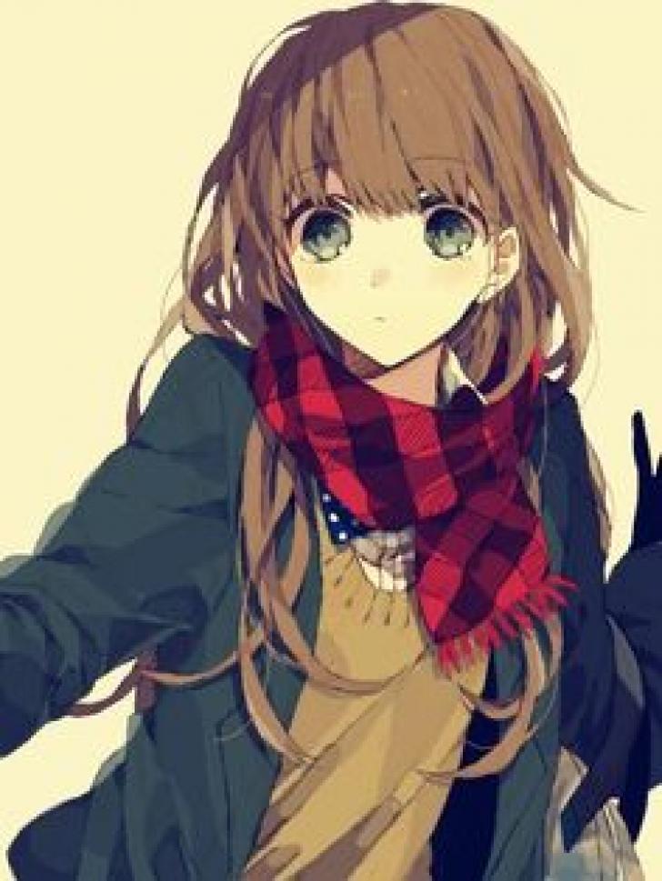 Cute Anime Girl Chrome Theme - ThemeBeta