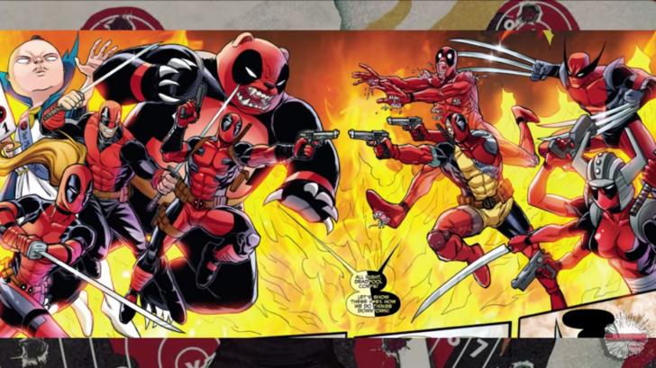 Deadpool Multiverse Chrome Theme - ThemeBeta