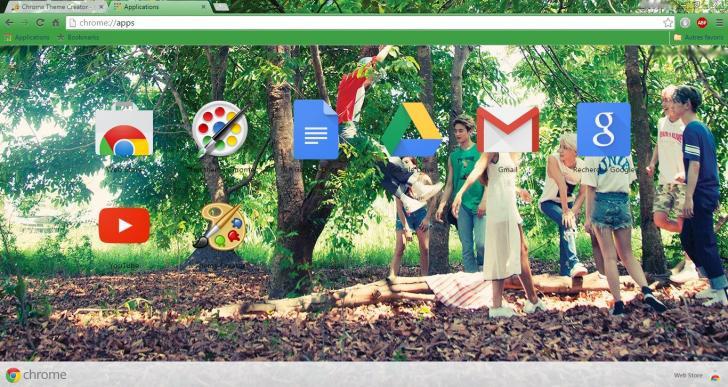 SHINee - View Chrome Theme - ThemeBeta