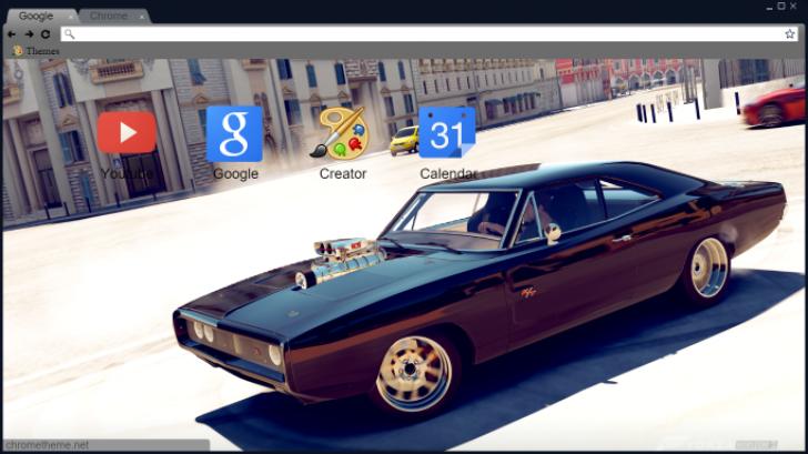 Fh2 Fast N Furious Dom Toretto Car Chrome Theme Themebeta