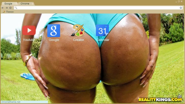 Pic ebony ass