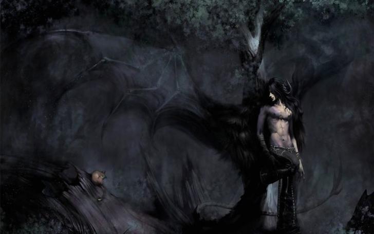 dark angel anime boy chrome theme themebeta