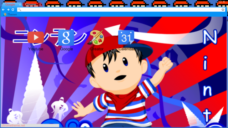 Ninten (EarthBound Beginnings) Chrome Theme - ThemeBeta