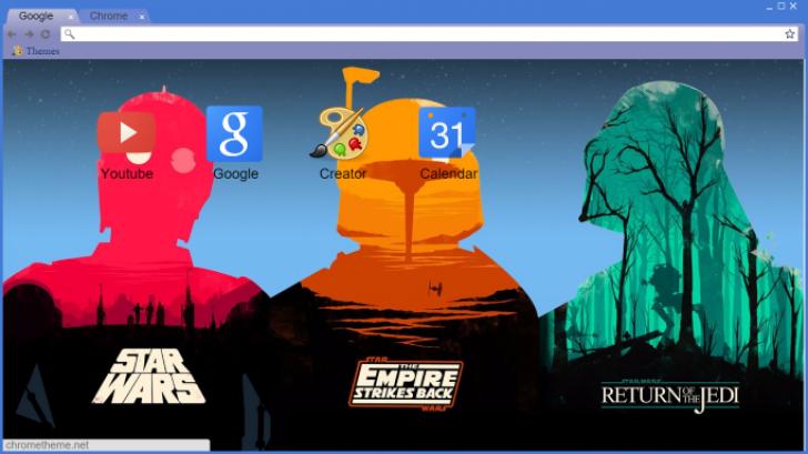 Star Wars Wallpaper Chrome Theme Themebeta