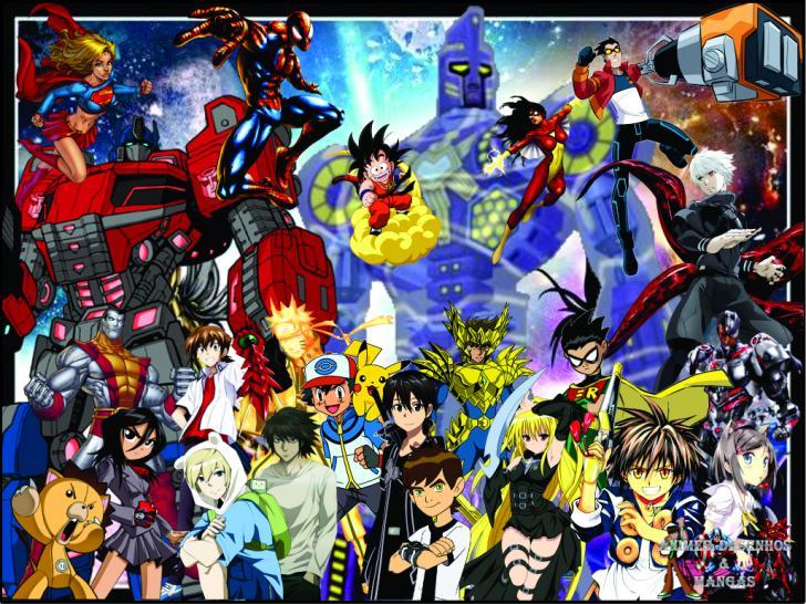 ADM Animes, Desenhos & Mangás Chrome Theme - ThemeBeta