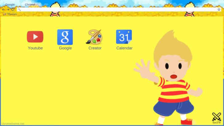 lucas mother 3 Chrome Theme - ThemeBeta