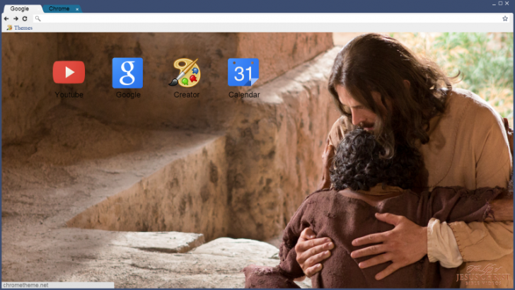 Bible Videos - Wallpaper 2 Chrome Theme - ThemeBeta