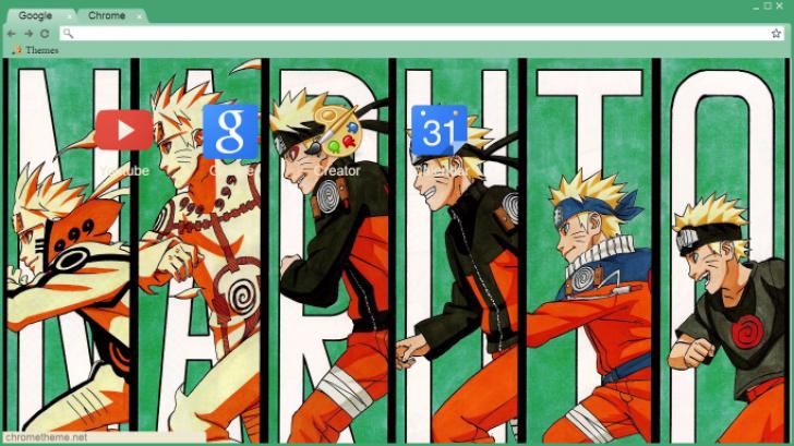 Naruto Fases Chrome Theme Themebeta