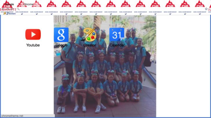 Summit my team Chrome Theme - ThemeBeta