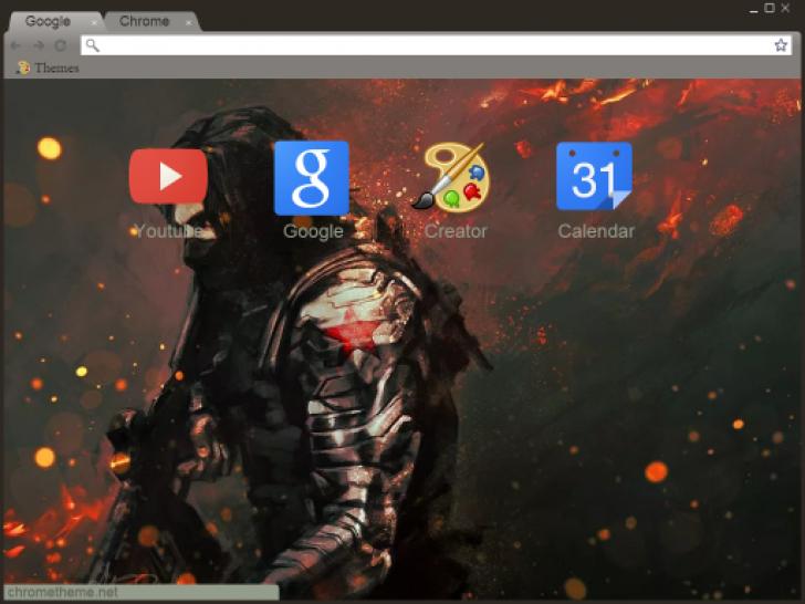 Chrome theme themebeta - Winter theme chrome ...