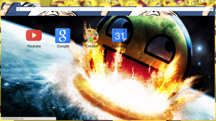 Epic Face Wallpaper Chrome Theme Themebeta