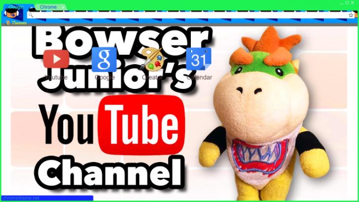 Sml Movie Bowser Youtube Chrome Theme Themebeta