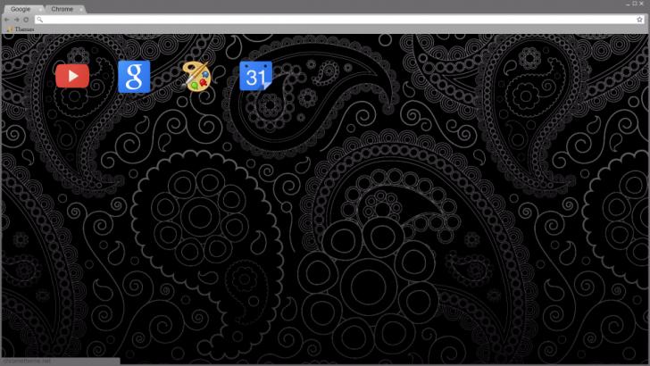 cool black theme chrome theme themebeta