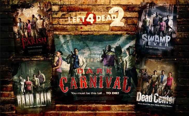 Left 4 Dead 2 poster theme Chrome Theme - ThemeBeta