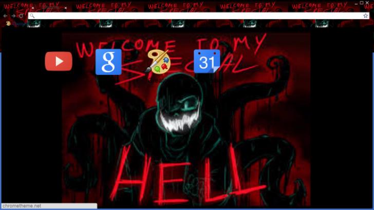 nightmare sans Chrome Theme - ThemeBeta